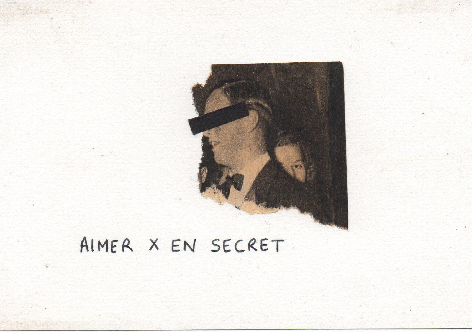 aimer x en secret