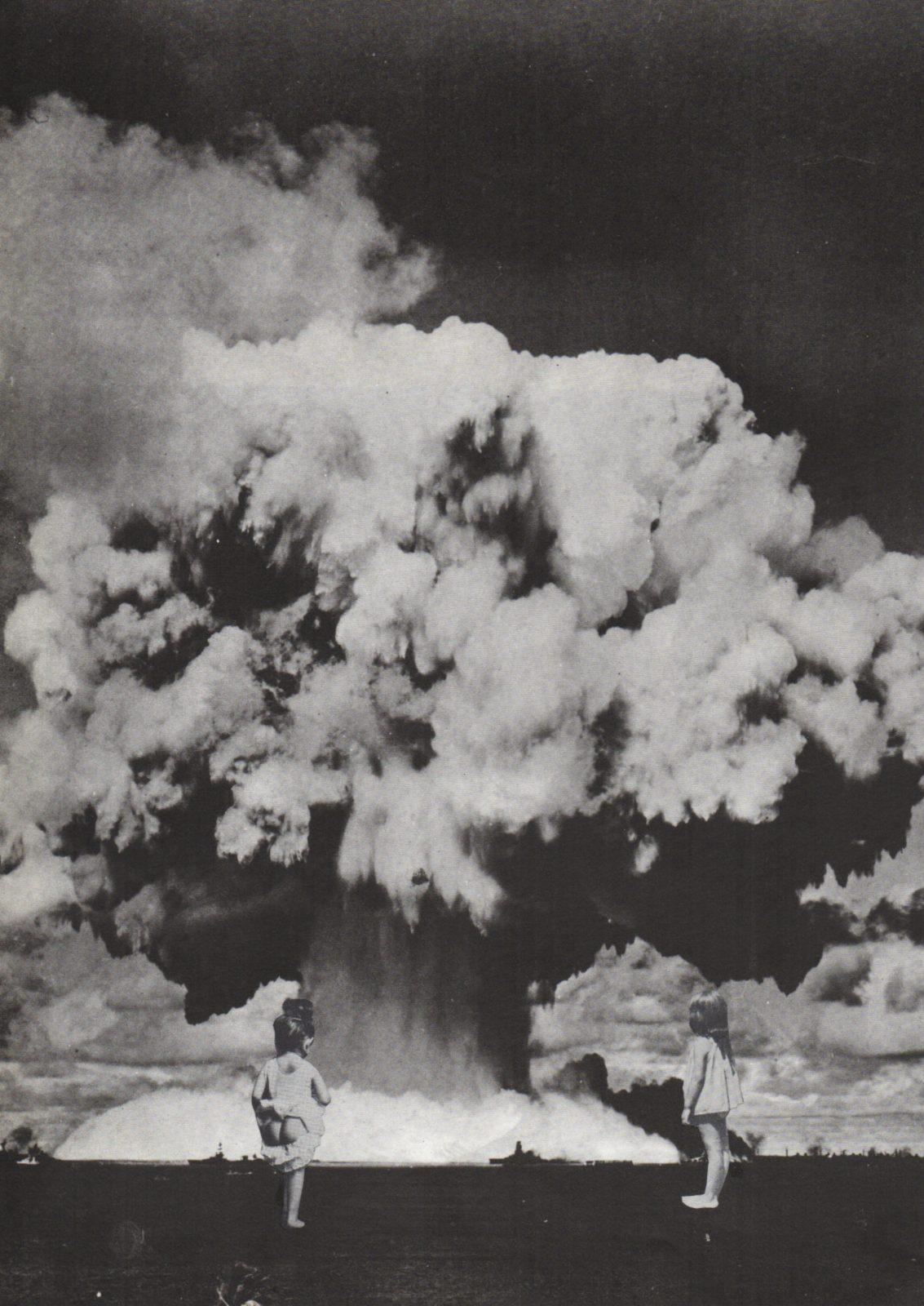 collage nucléaire