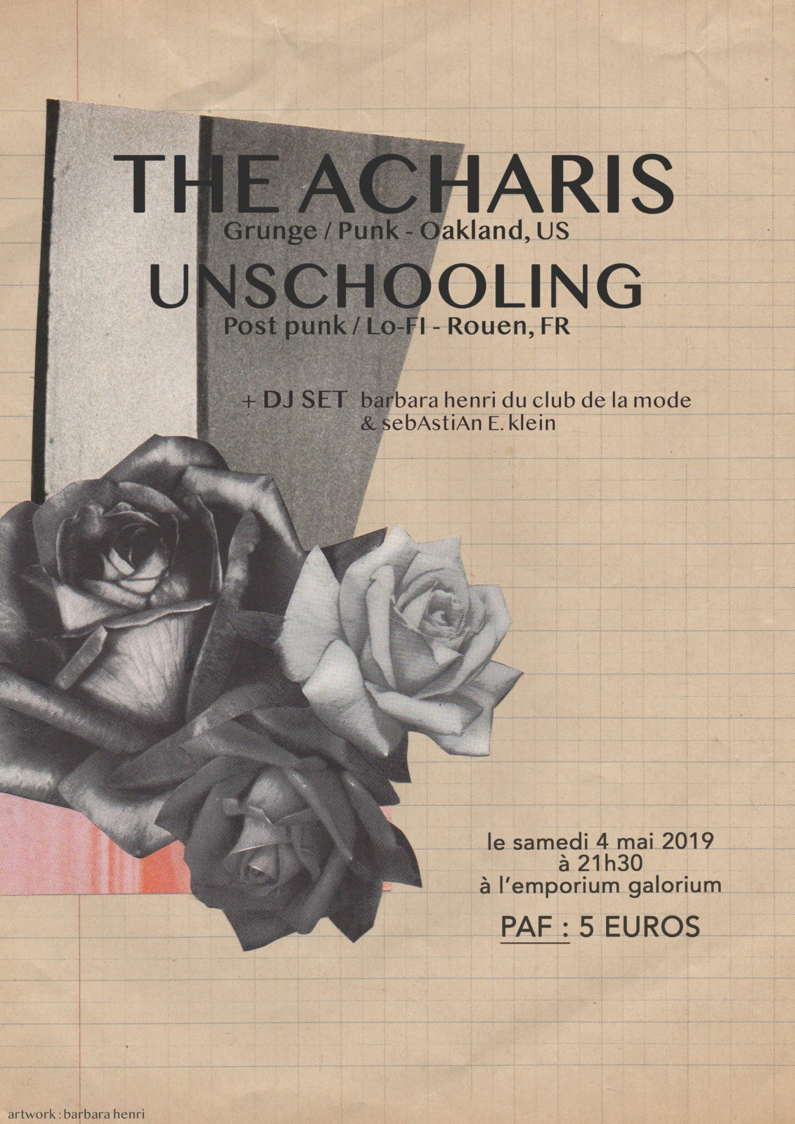 the acharis affiche - copie